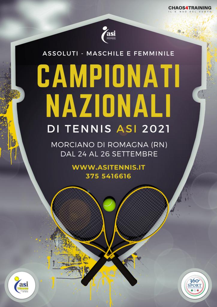 volantino campionati nazionali 2021